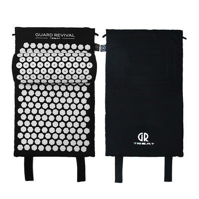 GUARD REVIVAL acupressure Mat with Pillow Back Muscle Relaxation Body Massage 5