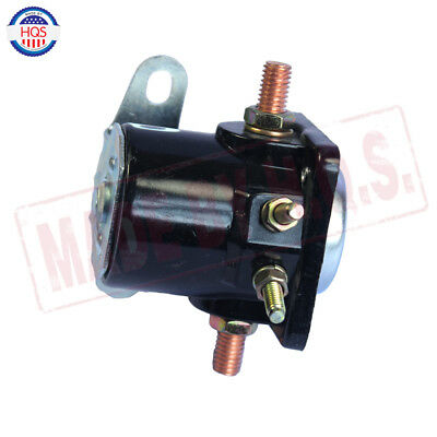 Black 12V STARTER SOLENOID RELAY SW-3 Ford Jeep Lincoln Mercury 1958-1991 2