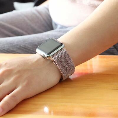 Cinturino per Apple Watch 42MM 44MM Morbido Nylon Sport Loop 7