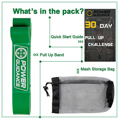 Exercise Bands Latex Resistance elastic  Band -Pull Up Assist Bands Fitness GYM 9