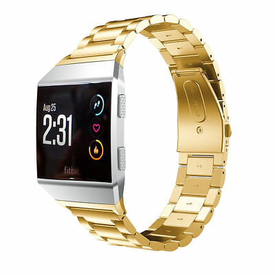 Stainless Steel Bracelet For Fitbit ionic Band Watch Metal Wrist Band Strap 6