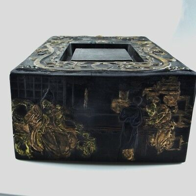 IMPERIAL Chinese Ink Block Cake Black Calligraphy Antique Chinese Ming Qing Dy 6