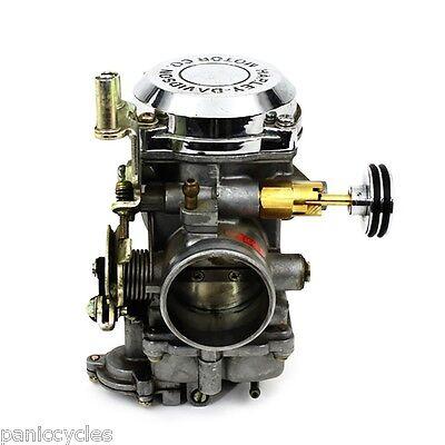 DOMED KEIHIN CV Carburetor Enricher Stepped Harley Cv Carbs Fl Fx Fxd 93&Up