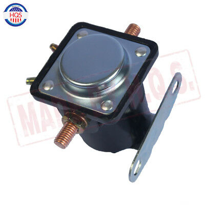 Black 12V STARTER SOLENOID RELAY SW-3 Ford Jeep Lincoln Mercury 1958-1991 6