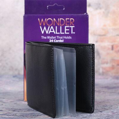 Wallet Leather Slim Black Amazing Original Wonder Wallet As Seen On TV 3