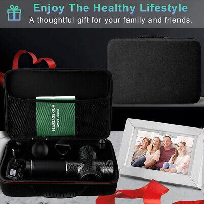 Massage Gun Percussion Massager Tissue Muscle Vibrating Relaxing Like Hypervolt 12