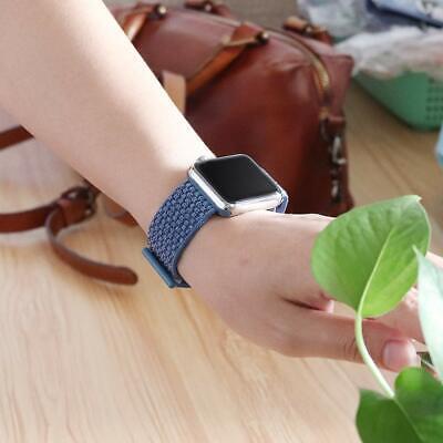Cinturino per Apple Watch 42MM 44MM Morbido Nylon Sport Loop 12