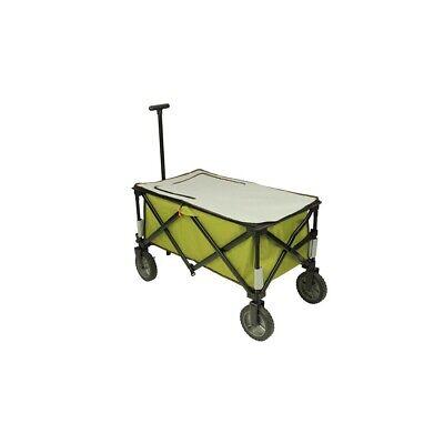Chariot à glacière à roulettes XL sac de réfrigération chariot de plage pliable 6