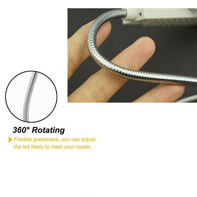 LED Lighting Flexible Gooseneck Arm Work,Magnetic Base for Workbench Lathe Drill 6