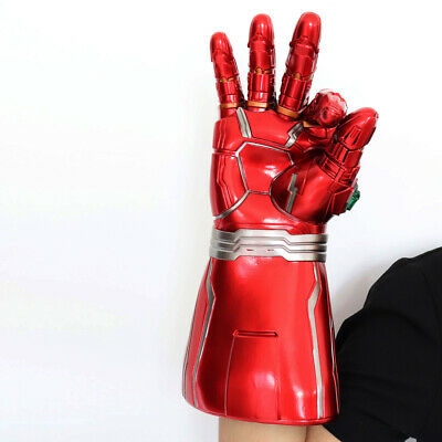 Iron Man Infinity Gauntlet Nano LED Gloves Thanos Avengers 4 Endgame Toys Aults 3
