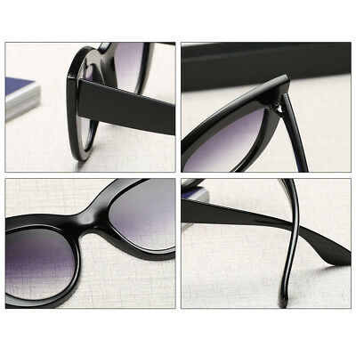 Luxury Ladies Womens Oversized Cat Eye Sunglasses Vintage Style Retro Shades EA 4