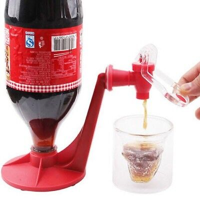Fashion Creative Coke Fizzy Soda Soft Drinking Drink Saver Dispenser Faucet Bar 3