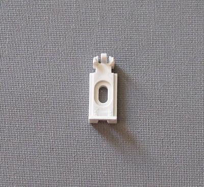 4 Plissee-Spannschuhe für das alte Cosiflor-System (2001-2006) - inkl. Schrauben