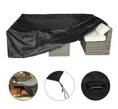 Extra Large Garden Rattan Outdoor Furniture Cover Patio Table Protection UKSTOCK 7