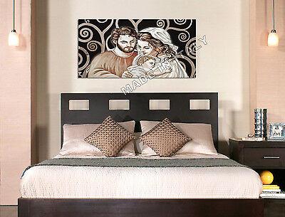 Quadro moderno Sacra Famiglia B Capezzale Arredamento Arte Casa Stampa su tela 2