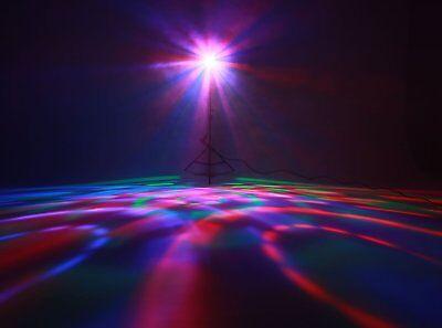 Complete Professional 4-Par Stage LED Lights DJ Band DMX System & Stand MU-L31A 6