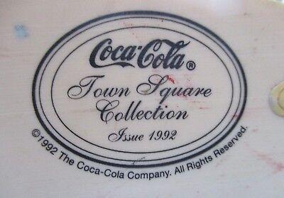 """Coca Cola Town Square Collection ~  """"Coca Cola Delivery Truck"""" ~ 1992 ~ NIB"""