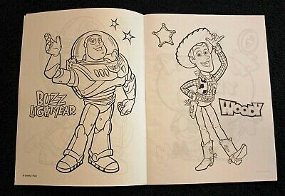 Toy Story 2 Rare Disney On Ice 9 X 12 Coloring Book 12 88 Picclick