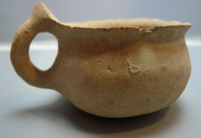 Herodian Terracotta Cup 50 BC - 150 CE Ancient Pottery 5