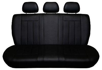 Schwarz Sitzbezüge für AUDI 100 C4 Autositzbezug VORNE