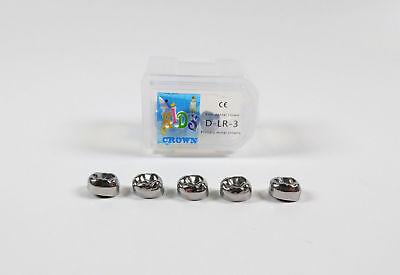 Dental Kids Primary Molar Crown Stainless Steel Pediatric 48 Sizes Hot Sale 3