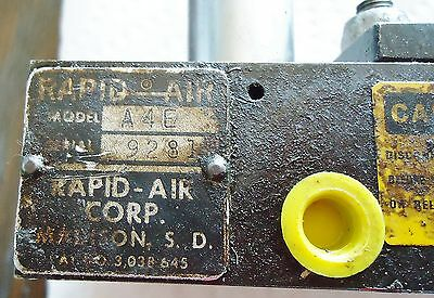 New Rapid Air Corp. A4E 9281 Feed Dis Strip A-2-P-Feed 4