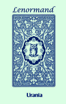Blue Owl By Mlle Lenormand 36 Cards Deck Esoteric Fortune Telling Agm New