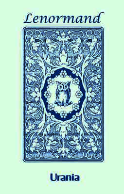 Blue Owl By Mlle Lenormand 36 Cards Deck Oracle Esoteric Agm With Velvet Bag 2