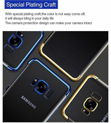 Luxury Ultra Slim Shockproof Silicone Clear Case Cover For Samsung Galaxy S8 S9 10