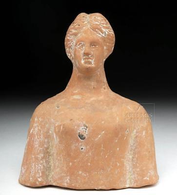 Greek Terracotta Protome Bust of Demeter Lot 13C