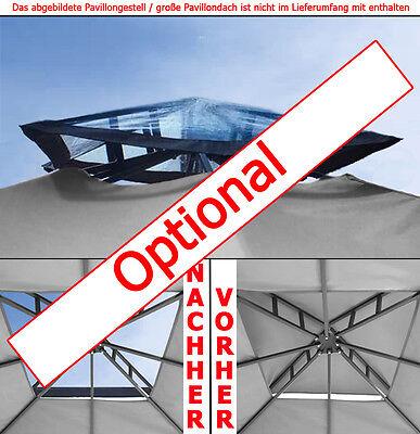 Pavillondach WASSERDICHT 310g/m² (Option) ERSATZDACH wasserfest PVC knapp ~ 3x3m 4