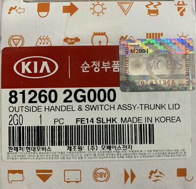 OEM Outside Trunk Lid Lock Release Handle for Kia Optima Forte Cadenza 812602G00