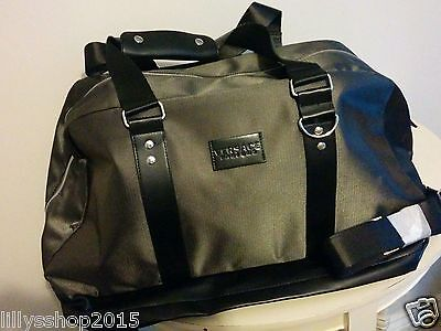 ... Versace Parfums Military Olive Green Weekend   Holdall   Sport Bag  Brand New 31ee3add7a
