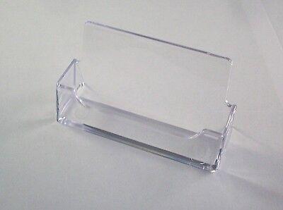 36 clear plastic business card holder plastic desktop display free 2 of 4 36 clear plastic business card holder plastic desktop display free shipping azm colourmoves