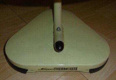 arzt tisch /wand lampe wärme alt top deko mint / gelb thermolite super 60 / 70er 9
