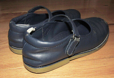 NWT Gymboree UNIFORM SHOP Navy Blue Bow Mary Jane Shoes 2,3