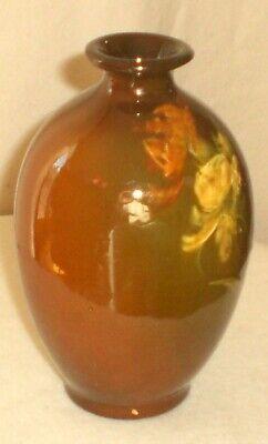 Vintage Roseville Art Pottery Rozane Royal Pattern Vase 2