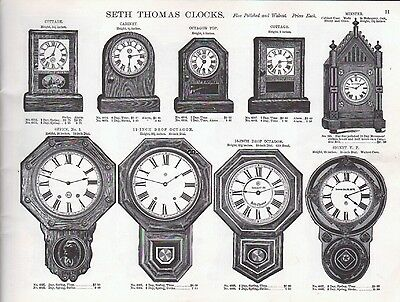 S. F. Myers & Co., 1885 Catalog Reprint -  - Pages of American Watch Movements 3