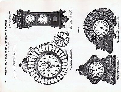 S. F. Myers & Co., 1885 Catalog Reprint -  - Pages of American Watch Movements 4