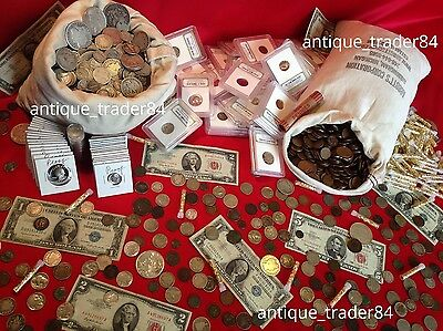 ✯ Estate Lot Sale ✯ Old US Coins ✯ Gold / Silver / Currency / Proof / Ancient ✯ 2