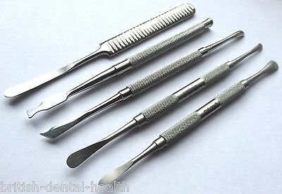 Periosteal Elevator Molt Chisel Set Implant Dental Sterilization Cassette Tray 2