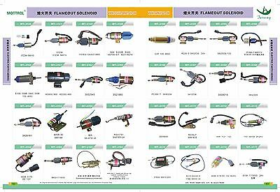 708-2H-25240 708-23-18272 Solenoid Valve FIT KOMATSU  PC200-3 PC200-6-95 PC120-5 5