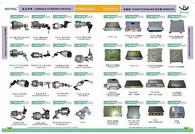 708-2H-25240 708-23-18272 Solenoid Valve FIT KOMATSU  PC200-3 PC200-6-95 PC120-5 4