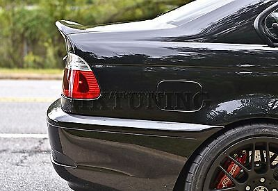 Bmw E46 Csl Rear Boot Lid Trunk Spoiler Ducktail Wing Lip Addon 2 Door Coupe