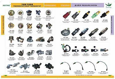708-2H-25240 708-23-18272 Solenoid Valve FIT KOMATSU  PC200-3 PC200-6-95 PC120-5 12