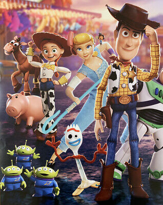 TOY STORY 4 MOVIE POSTER 2 Sided ORIGINAL Advance Ver C 27x40 TOM HANKS DISNEY 2