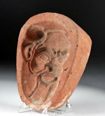 Romano Egyptian Terracotta Mold of Bes, ex-Bonhams Lot 9