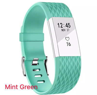 Replacement Fitbit Charge 2 Wristband Silicone Watch Wrist Sports Band Strap 12