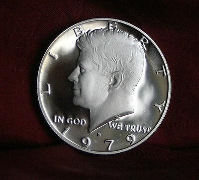 1979 S JFK Proof U.S. Half Dollar John F. Kennedy Beautiful Coin Eagle Shield 3
