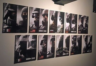 Rainbow Six Siege Canvas Wall A2 A1 A0 Large Gift Present SS0655